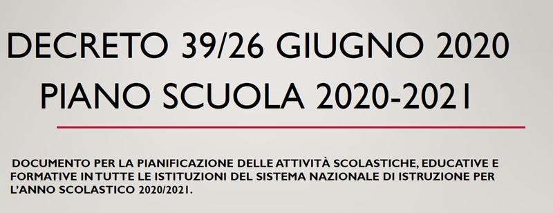 Piano Scuola 2020-2021 | Liceo Galileo Galilei